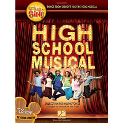 Lets All Sing Songs from High School Musical Movie - w/CD