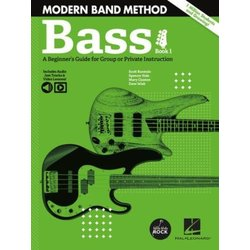 Modern Band Method – Bass, Book 1 with Online Audio