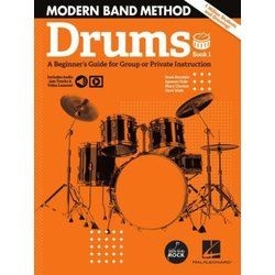 Modern Band Method – Drums, Book 1 with Online Audio