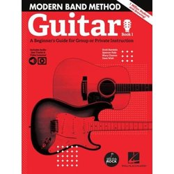 Modern Band Method – Guitar, Book 1 with Online Audio