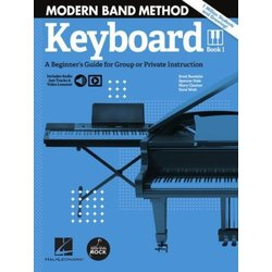 Modern Band Method – Keyboard, Book 1 with Online Audio