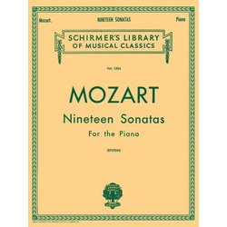 Nineteen Sonatas For The Piano - Complete (Mozart)