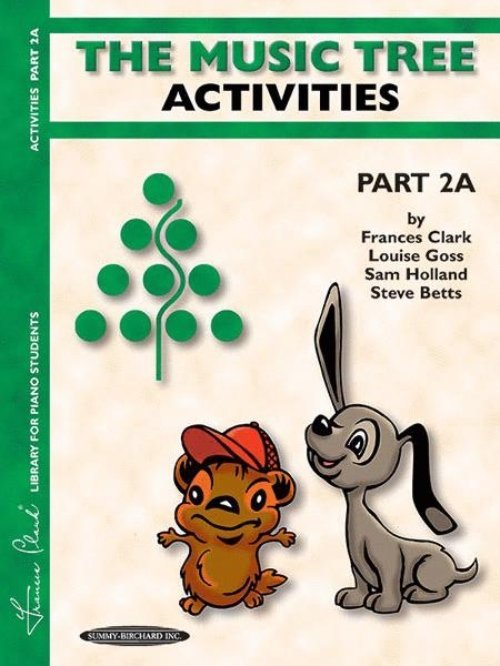 View larger image of The Music Tree: Activities Book, Part 2A