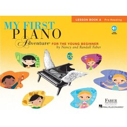 My First Piano Adventure Book A - Lesson w/Online Audio