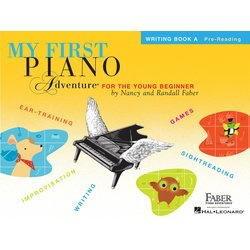 My First Piano Adventure Book A - Writing Book