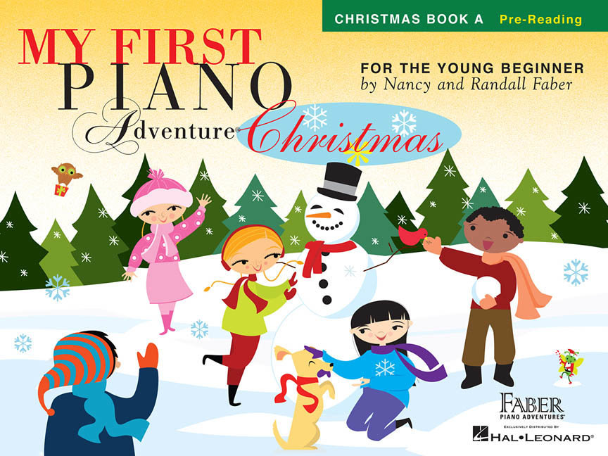 View larger image of My First Piano Adventure Christmas, Book A - Pre Reading