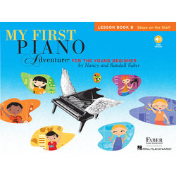 My First Piano Adventure Book B - Lesson w/Online Audio