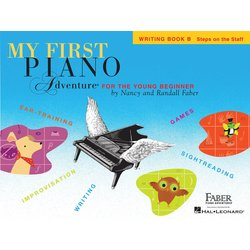 My First Piano Adventure Book B - Writing Book