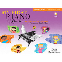 My First Piano Adventure Book C - Lesson w/Online Audio