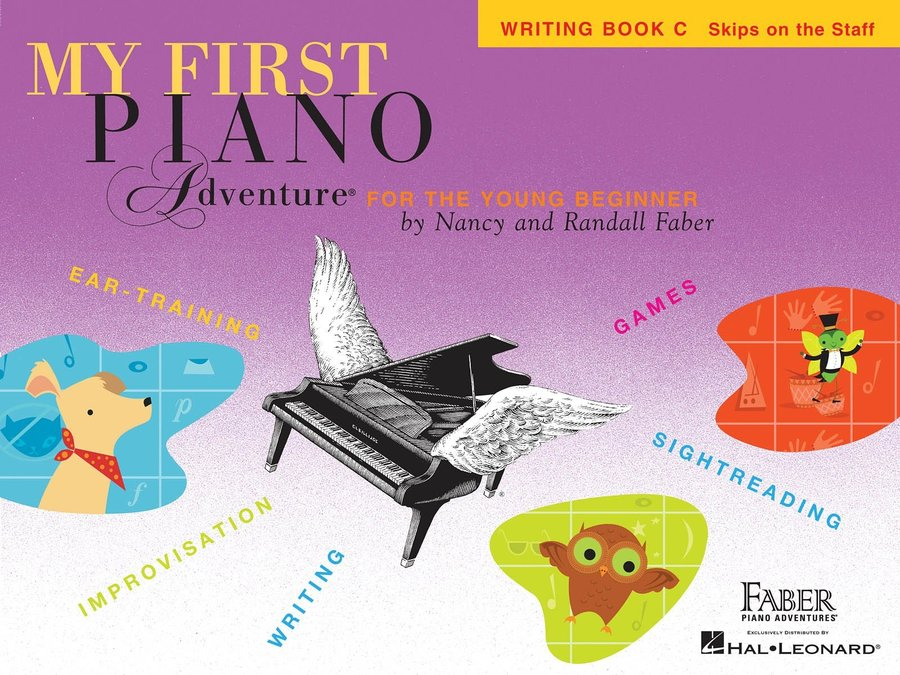 View larger image of My First Piano Adventure Book C - Writing Book