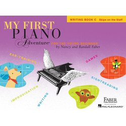 My First Piano Adventure Book C - Writing Book