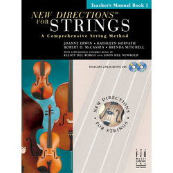 Music New Directions for Strings 1 - Piano Accompaniment