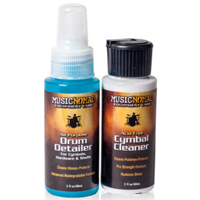View larger image of Music Nomad Cymbal Cleaner and Drum Detailer Combo Pack