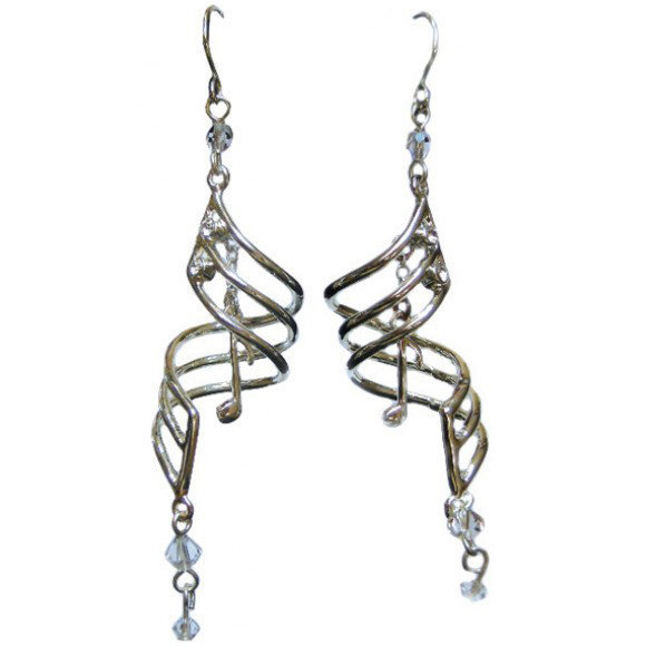 View larger image of Music Note Drop Earrings