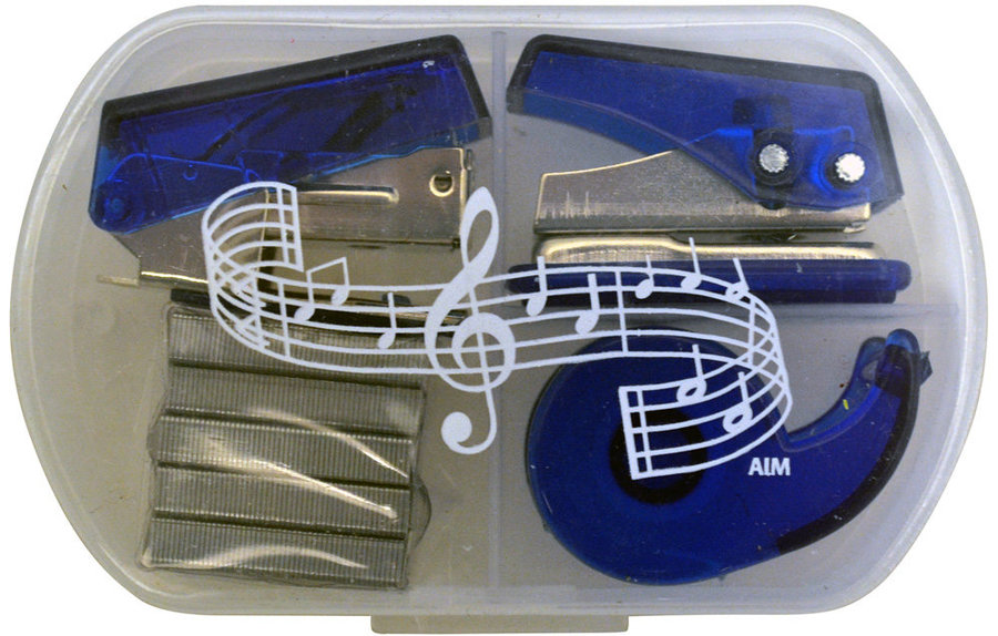 View larger image of Music Note Stationery Kit