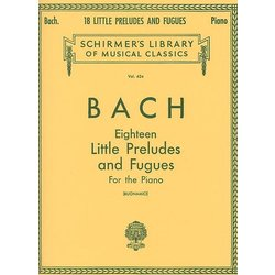 Eighteen Little Preludes And Fugues For The Piano (Bach)