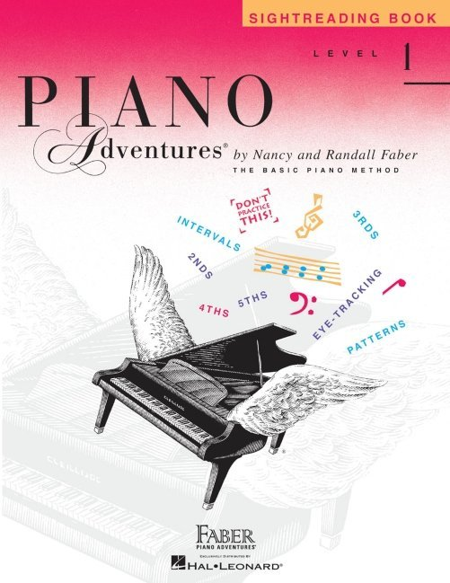 View larger image of Piano Adventures Level 1 - Sightreading Book