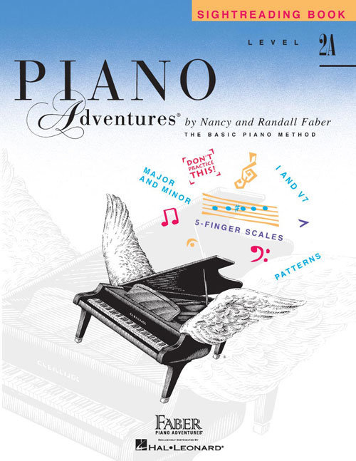View larger image of Piano Adventures Level 2A - Sightreading Book