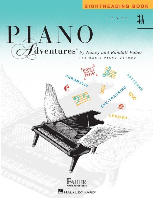 View larger image of Piano Adventures Level 3A - Sightreading Book