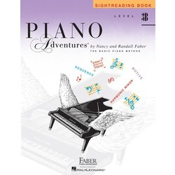 Piano Adventures Level 3B – Sightreading Book