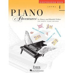 Piano Adventures Level 4 - Sightreading Book
