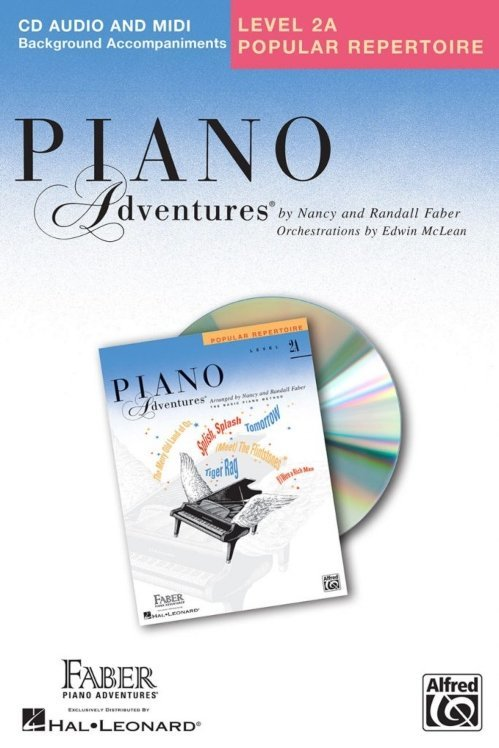 View larger image of Piano Adventures Level 2A - Popular Repertoire CD