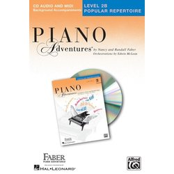 Piano Adventures Level 2B -  Popular Repertoire CD