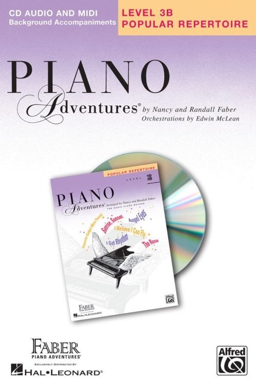 View larger image of Piano Adventures Level 3B - Popular Repertoire CD