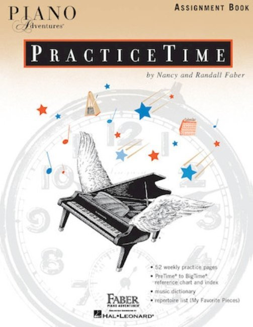 View larger image of Piano Adventures PracticeTime Assignment Book