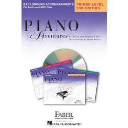 Piano Adventures Primer Level – Lesson Book CD