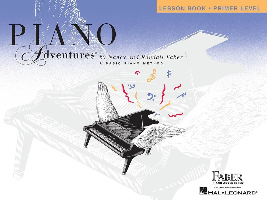 View larger image of Piano Adventures Primer Level - Lesson Book (Original Edition)