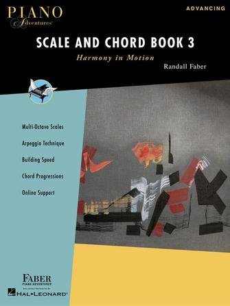 View larger image of Piano Adventures Scale and Chord Book 3 - Harmony in Motion