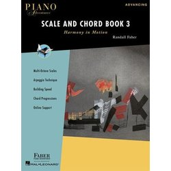 Piano Adventures Scale and Chord Book 3 - Harmony in Motion