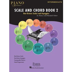 Piano Adventures Scale and Chord Book 2 - One-Octave Scales and Chords