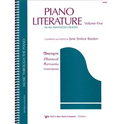 Piano Literature, Volume 5 (Advanced)