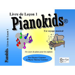 Pianokids Lesson Book 1 - French Edition