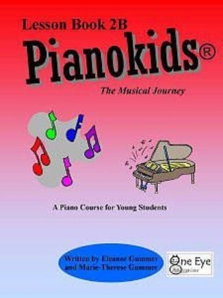 View larger image of  Pianokids Lesson Book 2B