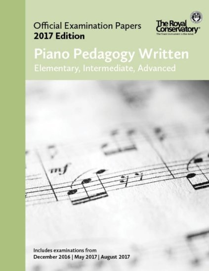 View larger image of Practice Exam Papers 2017 - Piano Pedagogy Written