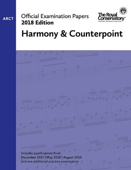 View larger image of Practice Exam Papers 2018 - Level ARCT Harmony & Counterpoint