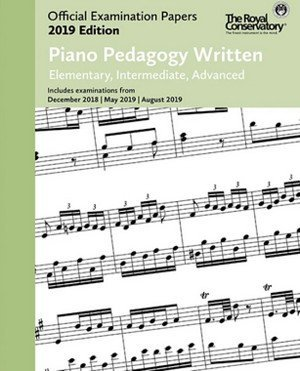 View larger image of Practice Exam Papers 2019 - Piano Pedagogy Written