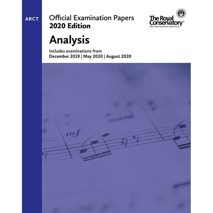 View larger image of Practice Exam Papers 2020 - Level ARCT Analysis
