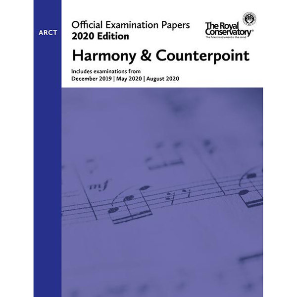 View larger image of Practice Exam Papers 2020 - Level ARCT Harmony & Counterpoint