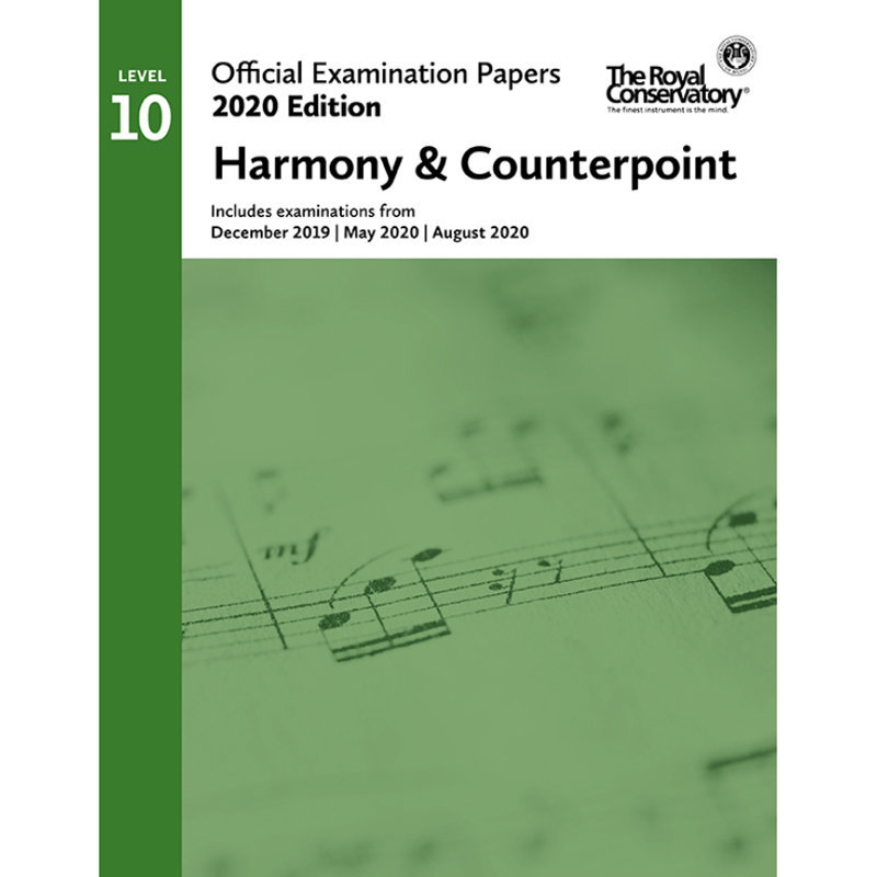 View larger image of Practice Exam Papers 2020 - Level 10 Harmony & Counterpoint