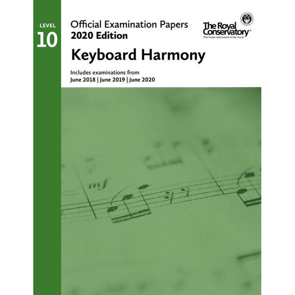 View larger image of Practice Exam Papers 2020 - Level 10 Keyboard Harmony