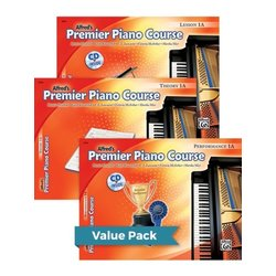 Premier Piano Course 1A - Value Pack (Lesson/Theory/Performance)