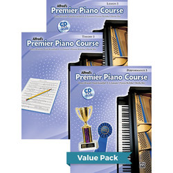 Premier Piano Course 3 - Value Pack (Lesson/Theory/Performance)
