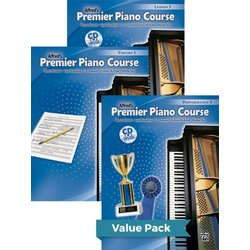 Premier Piano Course 5 - Value Pack (Lesson/Theory/Performance)