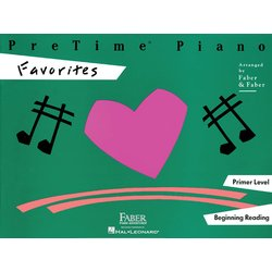 PreTime Piano Primer Level - Favorites