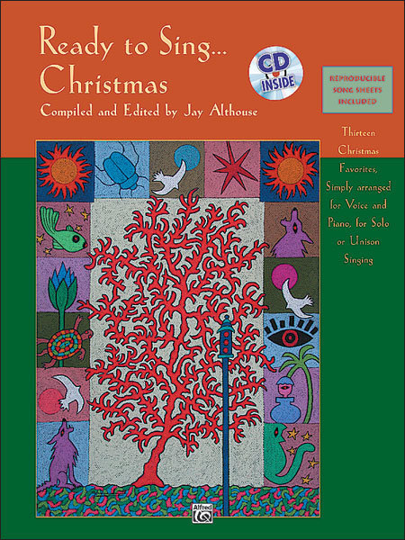 View larger image of Ready to Sing Christmas Songs w/CD