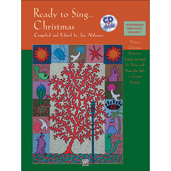 Ready to Sing Christmas Songs w/CD